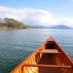 湖上の風景